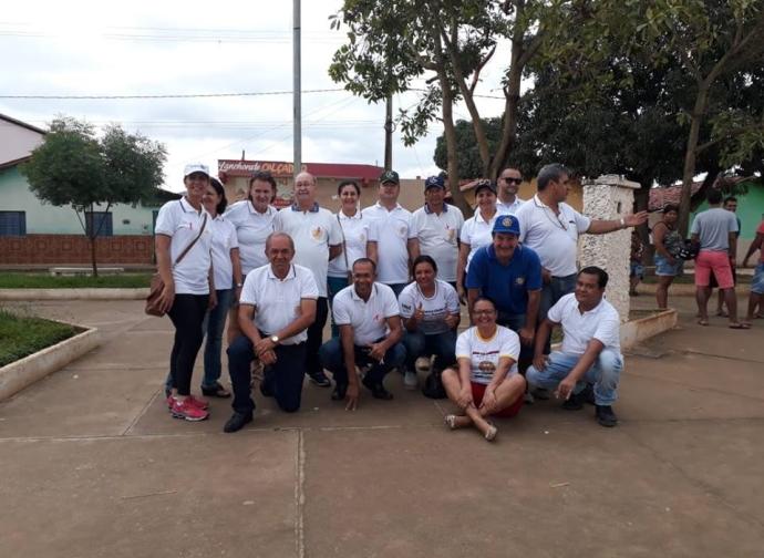 Rotary Club de Almenara promove o Dia do Rotary
