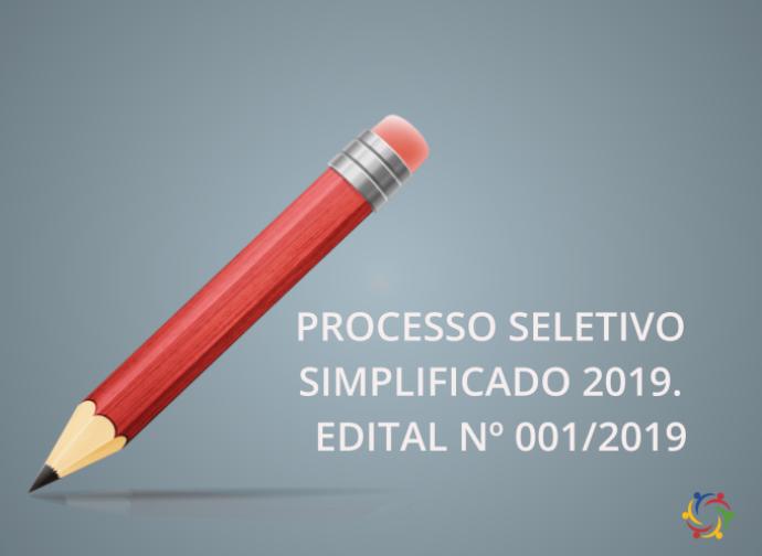 Processo Seletivo Simplificado 2019