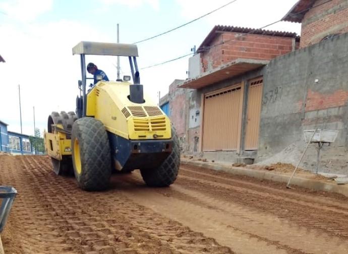 Rua do Cidade Nova pronta para receber asfalto