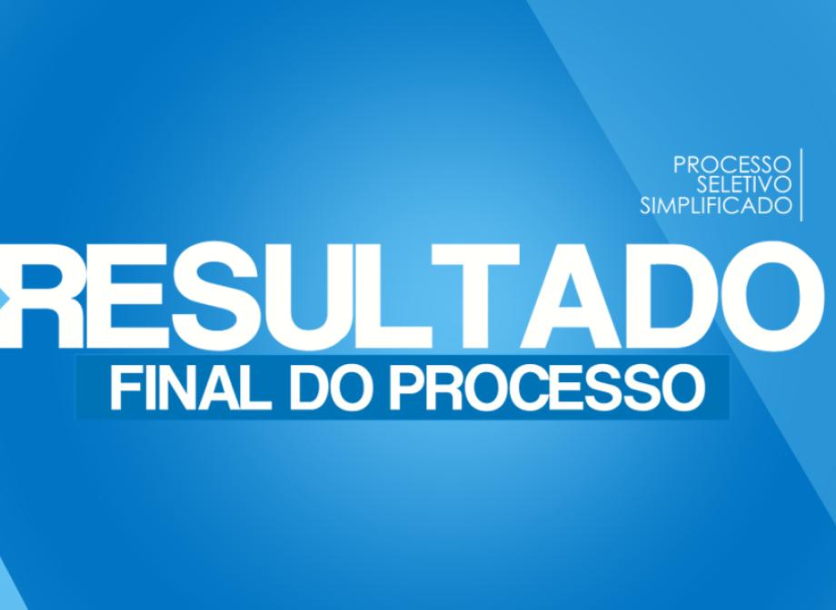 RESULTADO FINAL DA PRIMEIRA FASE DO PROCESSO SELETIVO SIMPLIFICADO PARA CONTRATAÇÃO DE AGENTES COMUNITÁRIOS DE SAÚDE
