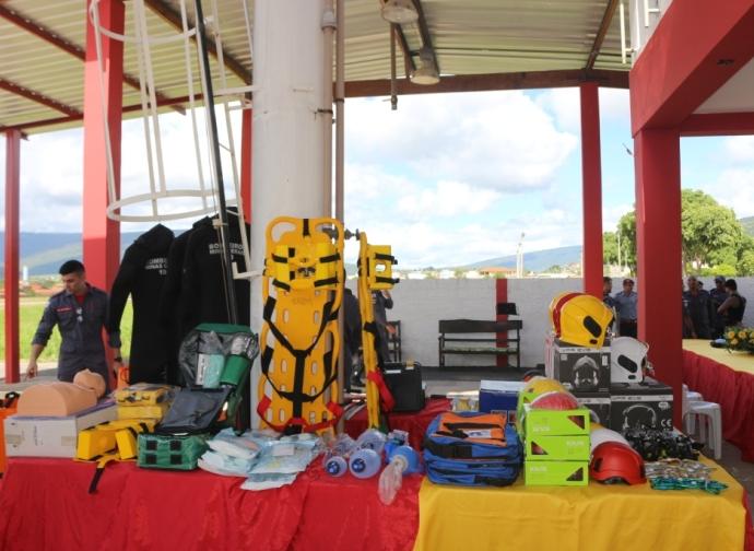 Almenara recebe R$ 600 mil em recursos para o Corpo de Bombeiros