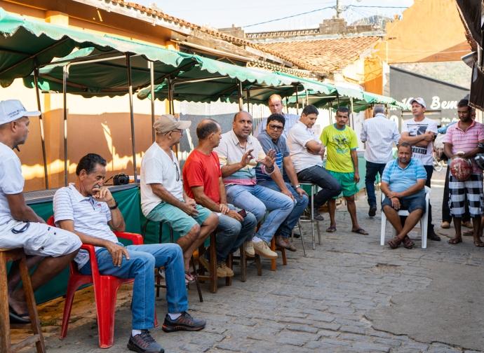 Prefeito Ademir Gobira anuncia restauração do Antigo Mercado de Almenara