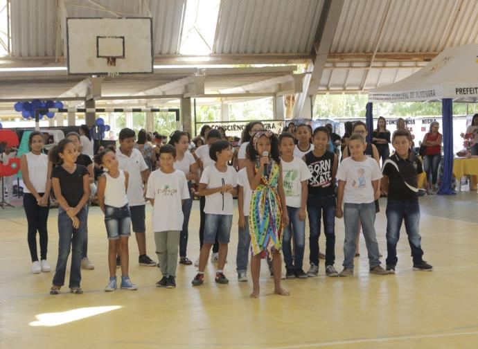 Prefeitura de Almenara realiza Ação Global na Escola Municipal Corina Ferraz de Brito