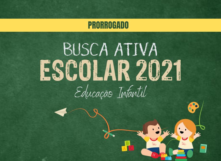 A prefeitura de Almenara prorroga o prazo para o cadastro na Busca Ativa Escolar da Educação Infantil