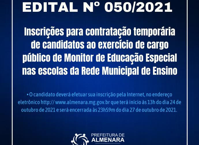 EDITAL DE CONTRATAÇÃO TEMPORARIA